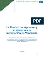 Informe Alternativo PIDCP Ipys Venezuela
