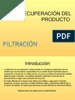Filtracion Bioseparaciones