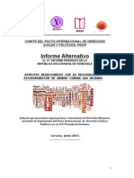 Informe Alternativo PIDCP Cepaz Avesa Freya Ghendu