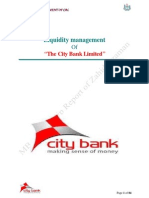 MBA Intership Report on Liquidity Management Process of the City Bank Ltd-libre
