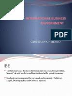 International Business Enviornment