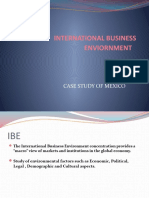 International Business Enviornment