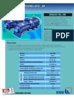 Catálogo Bomba Hydrobloc MA-MB KSB