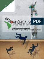 Nº 1 Estado y Movimientos Sociales en Iberoamérica. de La Crisis Europea Al Despegue Latinoamericano