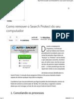 Como Remover o Search Protect Do Seu Computador