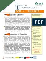 Informe Economia Ecuador Abr 2015