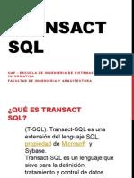 TRANSACT2 SQL