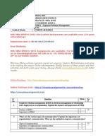 MU0012 – Employee Relations Management Spring 2015-16