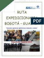 Relatos Expedicion Guanía-Bogota_publicar