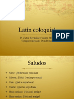 VMBY Latin Coloquial 1