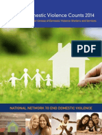 Domestic Violence Services Census, 2014