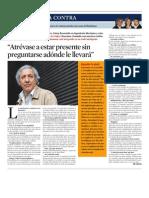La Vanguardia La Contra Sesha, Atrevase a Estar Presente 4 Mayo 2010