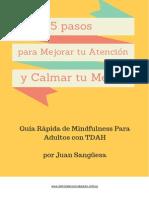Mindfulness Para Adultos Con TDAH