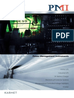 PMI - Inverter Catalogue 2012