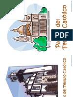 partes del templo católico