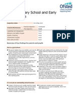 Barton Primary School Ofsted Report May 2015
