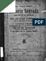 Historia Sagrada-Bosco 1899