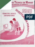 Investigacion Formativa Utm
