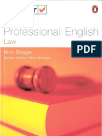 Test Your Professional English - Law