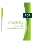 5 Critical Thinking