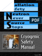 sns cryo safety manual june 2011