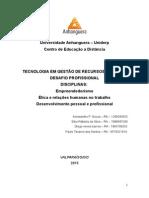 Plano de Negócio - Desafio Anhanguera