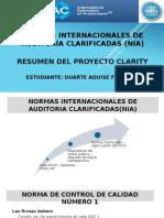 Resumen Del Proyecto Clarity Imprimir