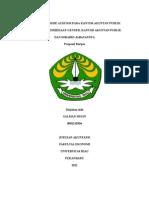 PROFESIONALISME AUDITOR PADA KANTOR AKUNTAN PUBLIK.docx