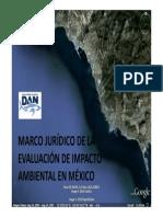 Marco Jurídico de la Evaluación de Impacto Ambiental