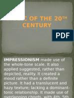 20th Century Music Summary