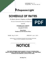 Duquesne-Light-Co-Current-Tariff