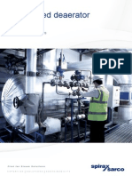 Pressurised Deaerator Solutions-Sales Brochure