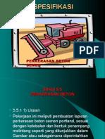 Spesifikasi Perk.beton Semen