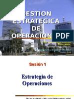 Sesión 1 Estrategia Operaciones