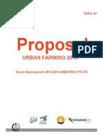 Proposal Urban Farming