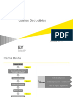 Gastos Deducibles Ernst Young 2013
