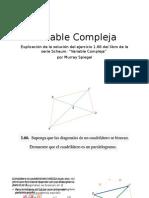 Paralelogramo y Biseccion de Diagonales