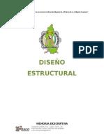 Informe de Analisis Estructural de Direpro - Albañilería Confinada