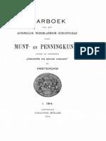 De munten van koning Lodewijk Napoleon / [A.O. van Kerkwijk]