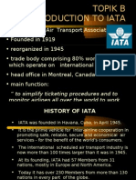 Topik b Introduction to Iata