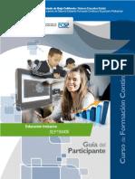 Educación Inclusiva. Guía Del Participante. Cursos de Formación Continua