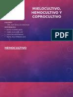 Mielocultivo, Hemocultivo y Coprocultivo