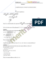 CBSE X Board Paper - Math Set 1 Section a All India