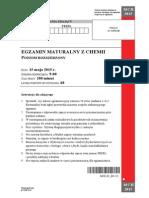 Matura 2015 - chemia - poziom rozszerzony - arkusz maturalny (www.studiowac.pl)