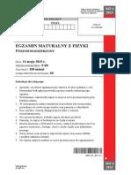 Matura 2015 - fizyka - poziom rozszerzony - arkusz maturalny (www.studiowac.pl)