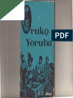 Oruko Yoruba (Adeoye)