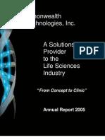 CBI Annual Report 2005
