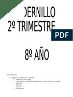 Cuadernillo 2 Trimestre Mío