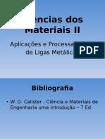Ciências Dos Materiais II