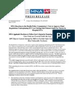 MNA Applauds HPC Decision